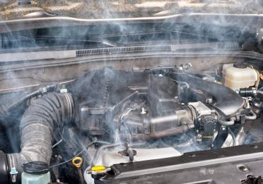 when your engine is overheated, let it cool down completely before opening the radiator
