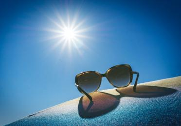 if left on the dashboard during the hot days, your glasses might act as a magnifying glass that starts flame