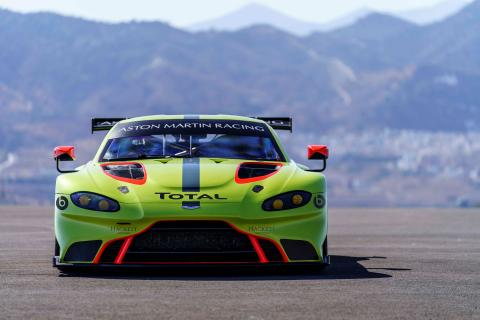 Total is the official Aston Martin racing partner